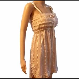Feather bone for Anthropologie silk chemise size M